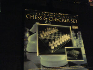 Chess & Checker Set (Limited Edition)