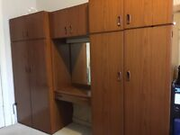 Schreiber Wardrobe with dressing table *sold- pending collection*