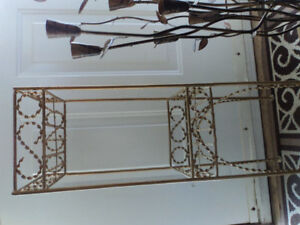 Beautiful Vintage Heavy Metal Plant Stand