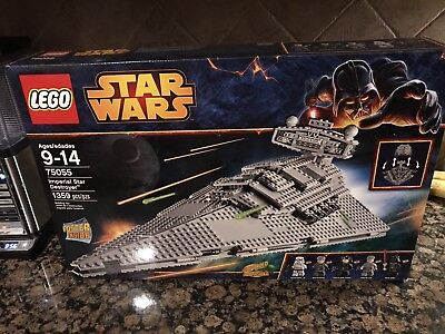 New Lego Star Wars Imperial Star Destroyer 75055 Factory Sealed