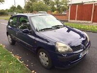 RENAULT CLIO EXPRESSION LONG MOT DRIVES GREAT