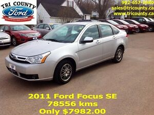 2011 Ford Focus SE 4D Sedan