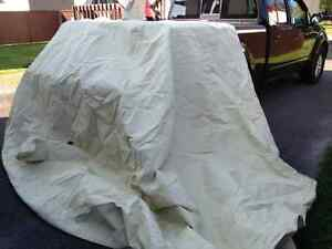 Toile protection Mustang