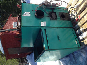 For sale oil tank and wood/oil furnace