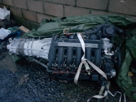 Bmw m57 engine gearbox e39,e46,x5,e60 530d 330d m57 engine gearbox