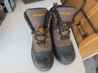 COLUMBIA BOOTS SIZE 4 CHILDREN