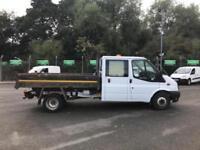 Ford Transit T350 D/CAB TIPPER EURO 5 STORAGE CONVERSION *VALUE RANGE VEHICLE -