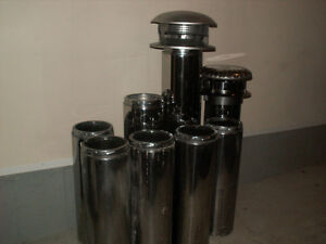 "7"" insulated chimney pipes for wood stoves and fireplaces"