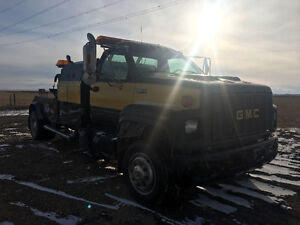 1995 lowpro topkick gmc tow truck for sale by owner