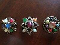 Vintage Miracle Brooches