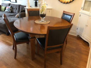 Restoration Hardware Dining Table & 4 Chairs