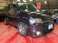 Honda Stepwagon 2.4 IVTEC Spada Auto 2003-53-Reg, Midnight Purple, Double-bed,