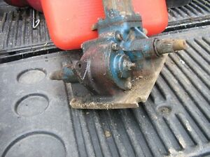 Ford 3400 steering gearbox