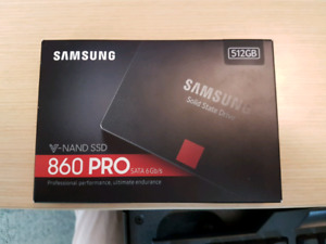 Brand New Sealed Samsung 860 PRO 512GB