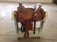 16 inch wade western rope saddle
