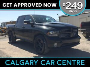 2016 Ram 1500 $249B/W TEXT US FOR EASY FINANCING! 587-582-2859