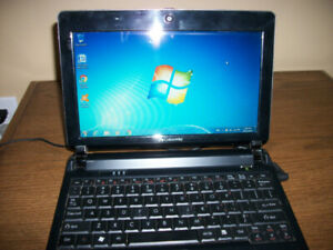 Gateway 10 inch net-book with Windows 7 and Microsoft Word.