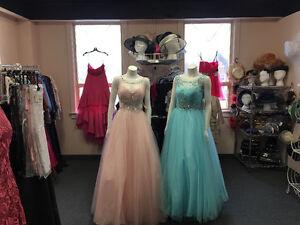 Mother of the bride and prom dresses