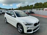 2016 66 BMW X1 2.0 XDRIVE25D M SPORT 228bhp Diesel Auto 4x4 in Mineral White Met
