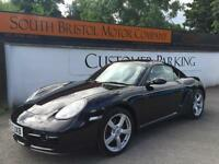 2007 57 PORSCHE CAYMAN 2.7 MANUAL COUPE ONLY 72K FSH 2 OWNERS BLACK