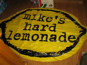 Mike's Hard Lemonade Inflatable Float