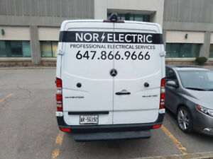 Certified  Master Electrician 647 866 9666