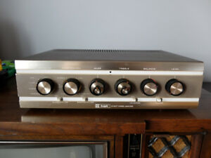 Vintage Knight Tube Stereo Amplifier and Tuner