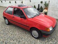 immaculate 1992 ford fiesta diesel