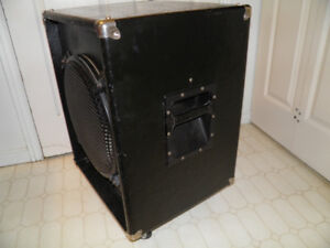 "RFC 15"" speaker cabinet with casters"
