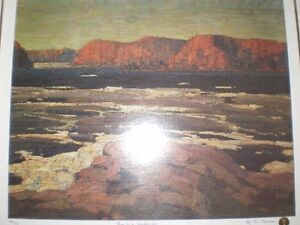 "Tom Thomson "" Petewawa Gorges - 1915 "" Limited Edition Print Kitchener / Waterloo Kitchener Area image 2"