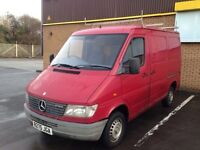 WANTED MERCEDES SPRINTER VITO TOYOTA HI ACE FORD TRANSIT SMILEYS