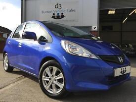 2012/62 Honda Jazz 1.4 i-VTEC ES Hatchback 5dr Petrol Manual Blue NEW SHAPE