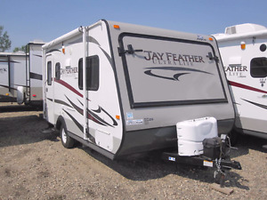 2014 Jayco 17z Jay Feather Hybrid Expandable Trailer