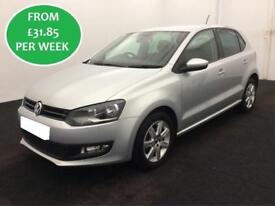 £138.01 Volkswagen Polo 1.2 2012 Match Hatchback