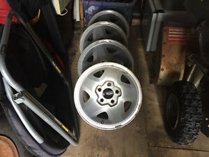 Chevy S10 SS Rims