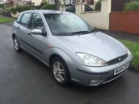 Ford Focus 1.6, excellent condition, lots of service history, sensible offers welcome,