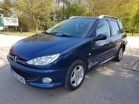 2006 Peugeot 206 SW 1.4 2005MY Verve**CAMBELT DONE**