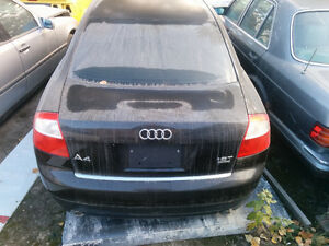 2003 Audi A4 1.8 Turbo Engine Transmission Parts Body Manual B6