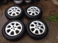 """Vauxhall 15"""" alloy wheels"""
