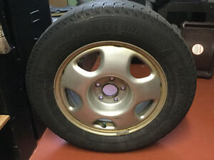 Used Michelin   winter tires on rims   17 inch