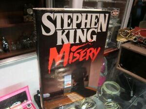 "Stephen King's ""MISERY"" First Edition Hard Cover Novel For Sale"