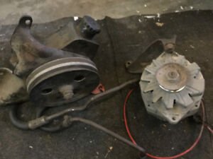 1973 olds 350 power steering pump and alternator