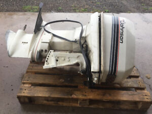 Johnson VR90 for sale with controls and winterized