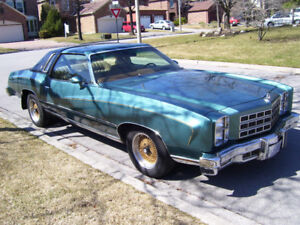 1977 Chevrolet Monte Carlo -Selling AS IS