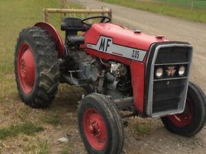 Rebuilt 25HP tractor