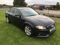 10 REG AUDI A4 2.0 TDi e SE 4DR-FULL HISTORY INC CAMBELT-3 KEYS-VERY SMART LOOKING CAR-DRIVES GREAT