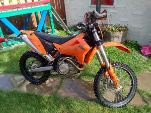 2009 ktm exc 450 road legal from factory