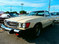 GOOD CARS ONLY HAS MERCEDES 380 SL AVAILABLE