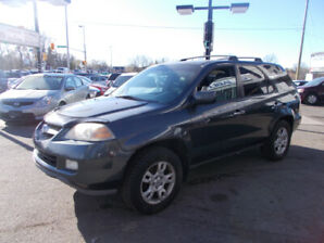 ACURA MDX 7 PASSENGER LEATHER SUNROOF ALL WHEEL DRIVE