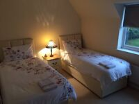 Lovely twin double bed for females only